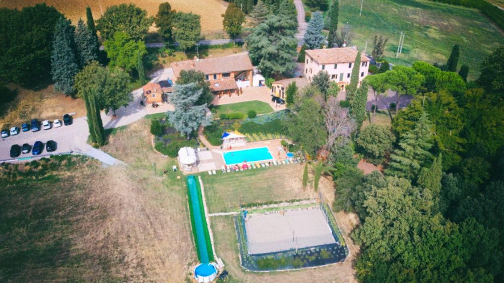 villa-drone